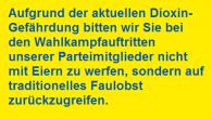 Am 20. Februar finden in Hamburg bereits die nächsten Bürgerschaftswahlen statt. Landtagswahlen in Sachsen-Anhalt, Baden-Württemberg und Rheinland-Pfalz folgen im März. Rechtzeitig vor der heißen Wahlkampfphase hat die FDP nun eine Plakataktion gestartet, um den Wählerinnen und Wählern wichtige Informationen über die bevorstehenden Wahlen zu vermitteln.