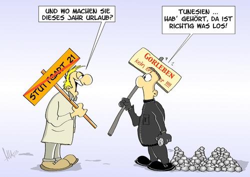 Tunesien-Urlauber