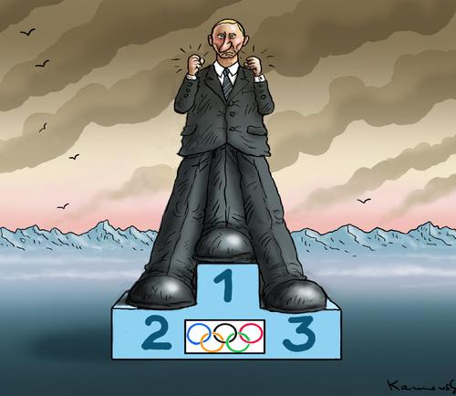 Putin, Sotschi