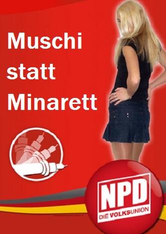 Europawahl NPD Plakat