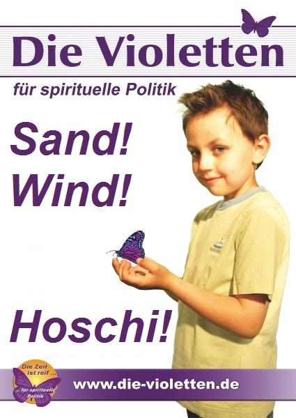 Plakat Die Violetten
