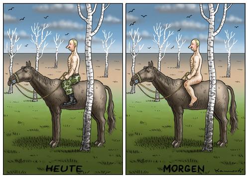 Der wilde Putin