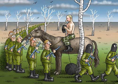 Putin in der Ukraine