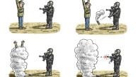 """Nach langem Zögern ist die Bundesregierung nun grundsätzlich bereit, Waffen in die Krisenregion Ferguson im US-Bundesstaat Missouri zu liefern. Darauf verständigte sich Bundeskanzlerin Angela Merkel heute mit den zuständigen Ministern. Bei der Waffenhilfe werde Deutschland """"aus dem Vollen schöpfen"""" und sich """"auf das Engste"""" mit seinen internationalen Partnern abstimmen, kündigte […]"""