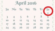 EILMELDUNG Achtung, liebe Mitbürgerinnen und Mitbürger. Aufgrund der Tatsache, dass das Jahr 2016 ein Schaltjahr ist und der Februar 29 Tage hatte, verschiebt sich der 1. April um einen Tag, auf den 2. April. Aprilscherze werden also demzufolge erst einen Tag später als üblich gemacht. Sie sollten daher vermeiden, am […]