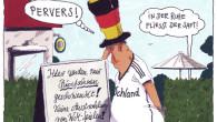 """Nach dem spektakulären Sieg über Portugal sowie der darauffolgenden Feier, hat das DFB-Team überraschend die Koffer gepackt und die Heimreise angetreten. Heute landeten die Spieler gut gelaunt am Frankfurter Flughafen. """"Man soll aufhören, wenn's am schönsten ist"""", erklärte Bundestrainer Joachim Löw der staunenden Presse. Die WM in Brasilien vorzeitig zu […]"""